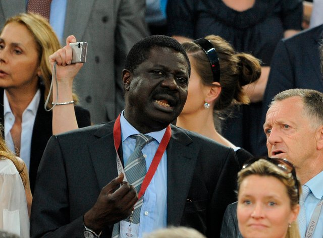 Pape Diouf, Marseille President for four years, has died from coronavirus at the age of 68 (PA Images)
