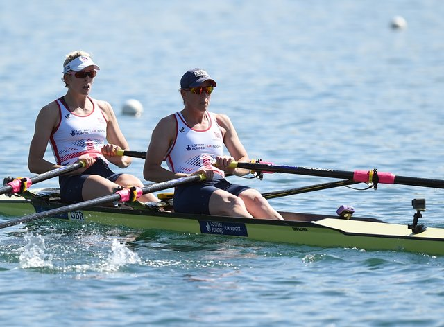Victoria Thornley (left) is feeling confident ahead of Tokyo 2021 (PA Images)