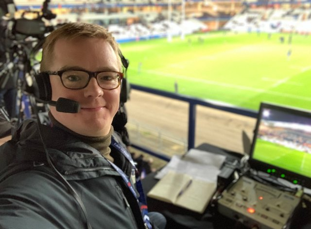 Heath started commentating on everyday life after the rugby season was suspended (Nick Heath)