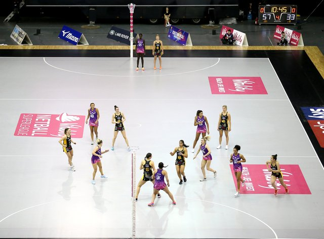 Vitality Netball Superleague considering different scenarios (PA Images)