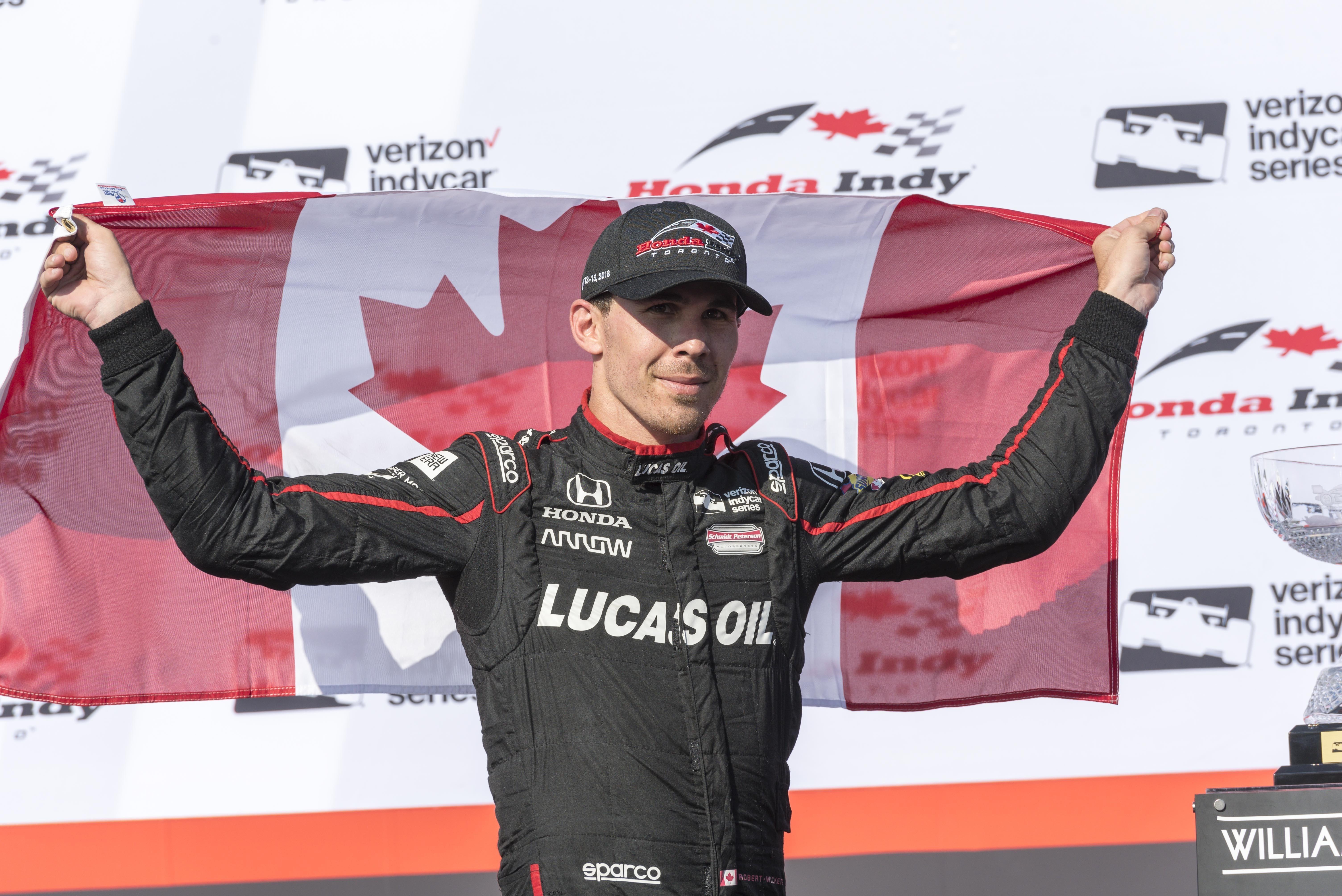 Watch Wickens' return to racing