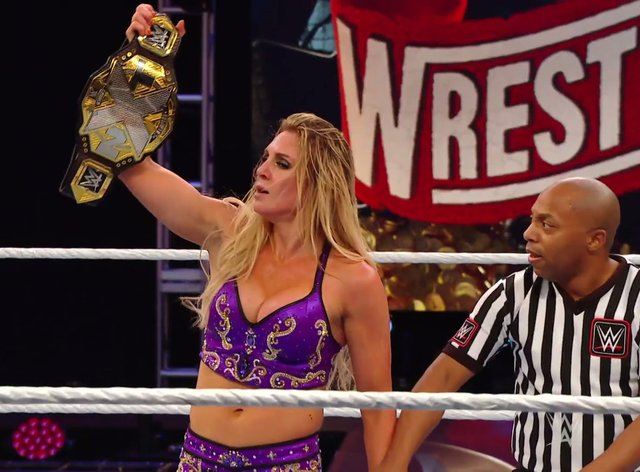Charlotte Flair won her second ever NXT title (WWE)