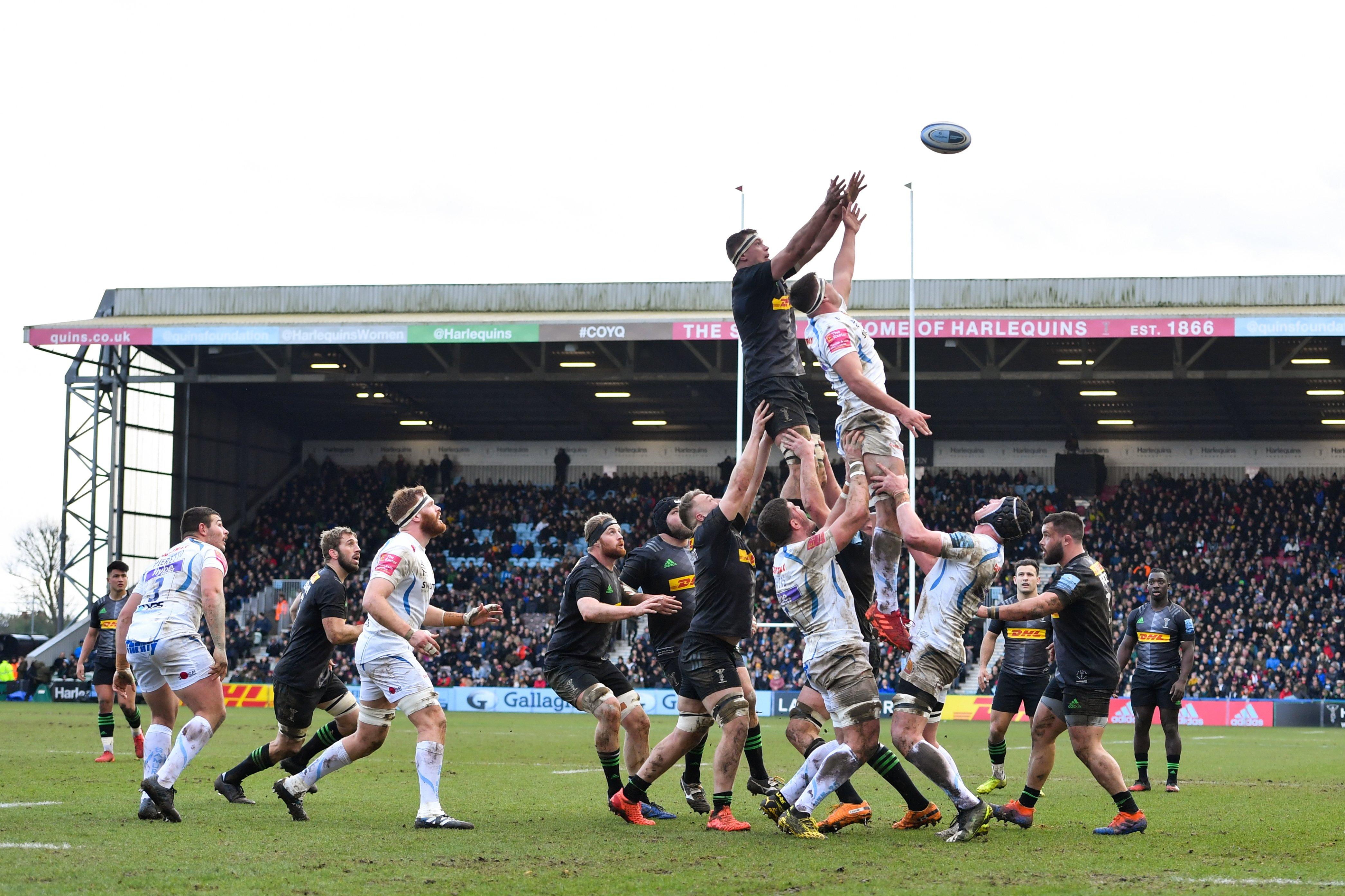 Prem rugby plan to finish season