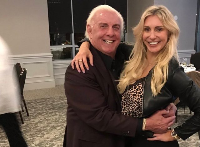 Charlotte Flair's dad has compared her to Randy Orton (Twitter: WWE All New)