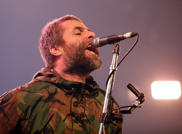 Lam Gallagher will perform a free concert for NHS staff at the  O2 (PA Images)