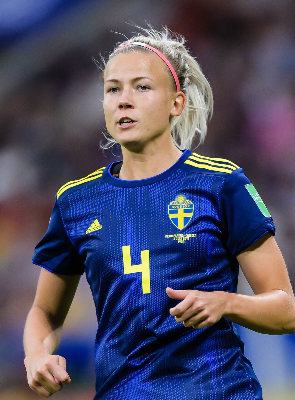 Glas played for Sweden at the World Cup last summer (PA Images)
