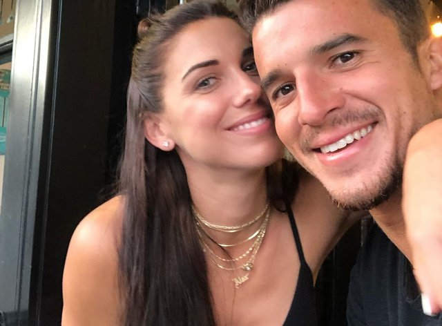 Morgan and her husband Carrasco have uploaded a video encouraging food bank donation (Instagram: Alex Morgan)