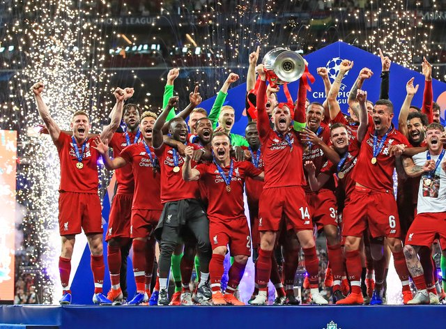 Liverpool are the reigning champions but have already been eliminated from this year's competition (PA Images)
