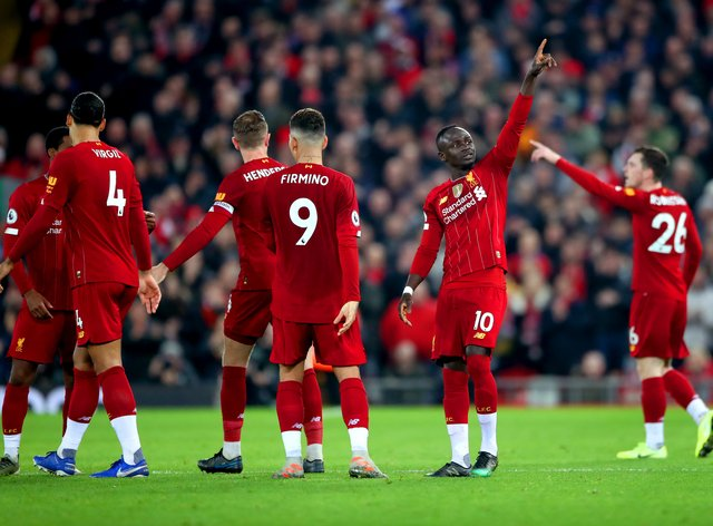 Liverpool will be hoping the season can be completed so they can secure the Premier League title (PA Images)
