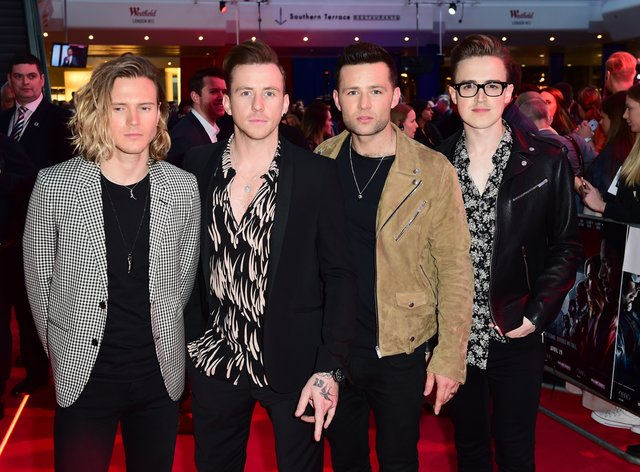 McFly are raising money for the NHS (PA Images)