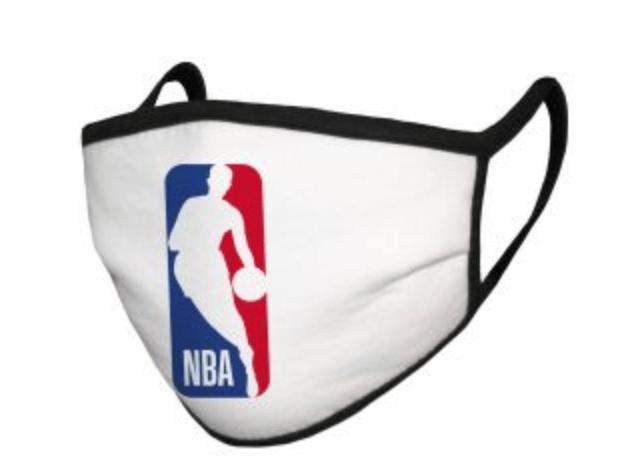 Proftis from the masks will go towards coronavirus relief charities (NBA)