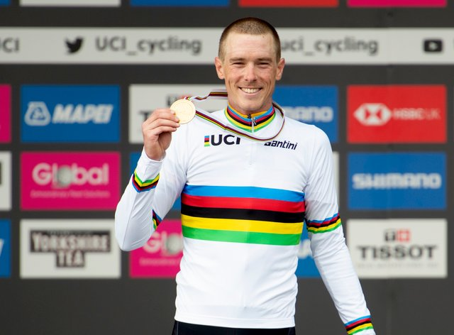Dennis has won the world time trial title for the last two years (PA Images)