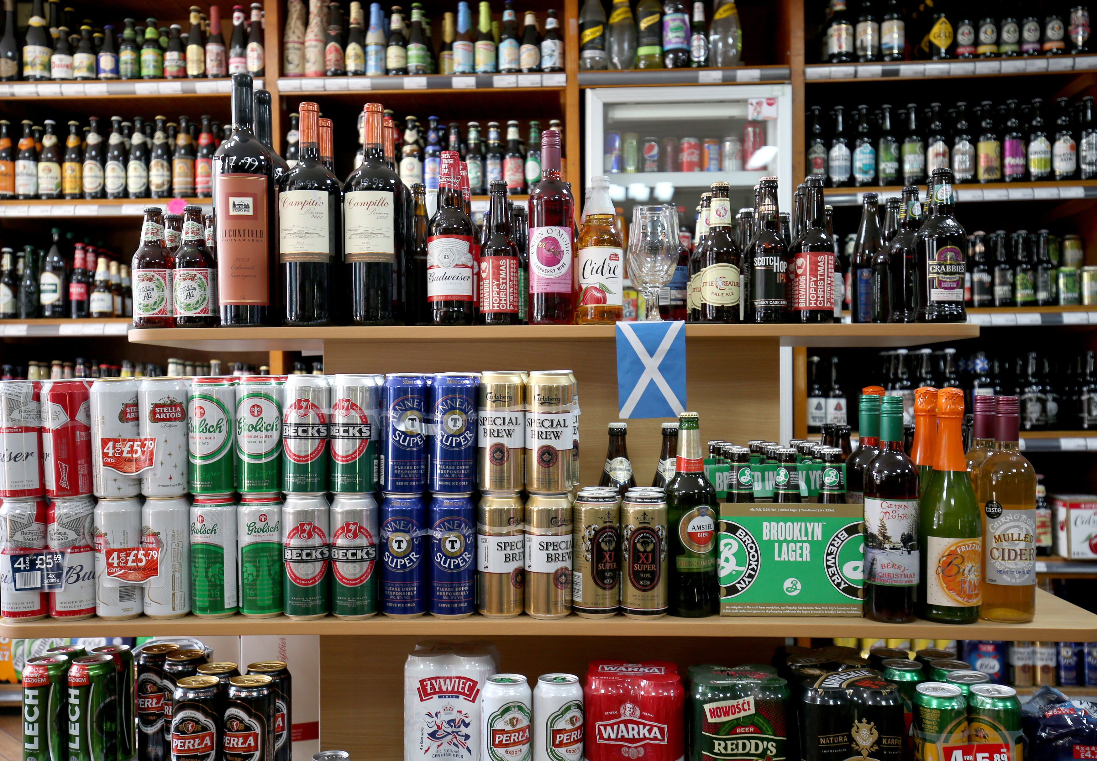 UK alcohol sales rise by nearly a third in lockdown as ...