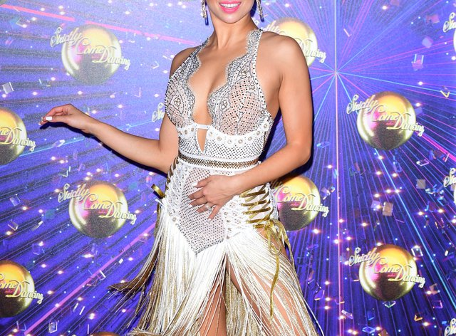 Katya Jones feared the hacked photos might compromise her place on Strictly (PA Images)