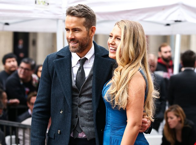 Blake Lively and Ryan Reynolds have been experimenting with hair in lockdown (PA Images)