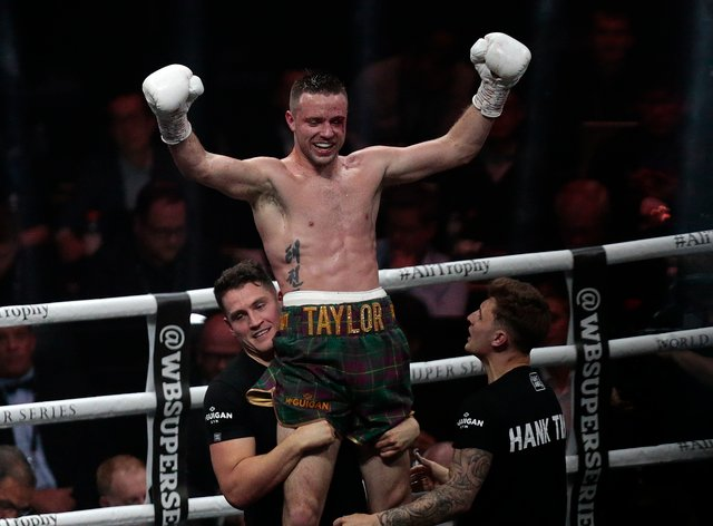 Taylor has won all 16 of his fights as a professional (PA Images)