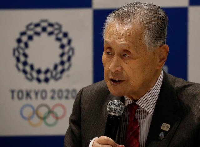 Yoshiro Mori has revealed Games won't go ahead if coronavirus is still raging (PA Images)