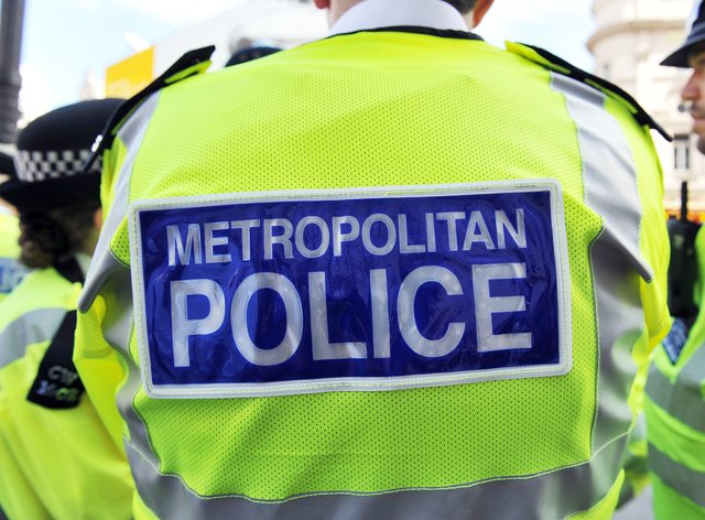 Appeal to trace man seen brandishing knife