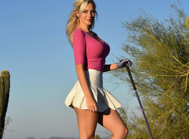The golfer says 'I'm young, confident and like  to feel sexy' (Instagram: @_paige.renee)