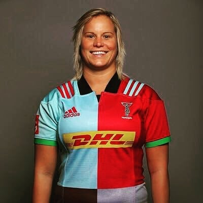 Saynor is a researcher as well as a rugby player (Instagram: Zoe Saynor)