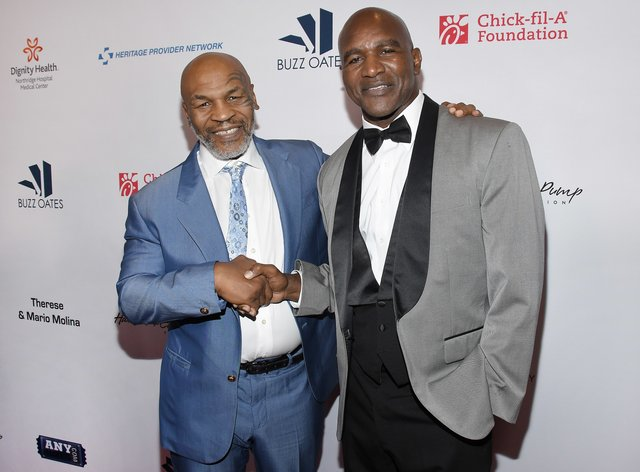 Tyson and Holyfield have both stated their desire to compete in exhibition boxing contests (PA Images)