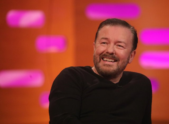 Ricky Gervais has penned a deal with Netflix that will feature another season of 'After Life' (PA Images)