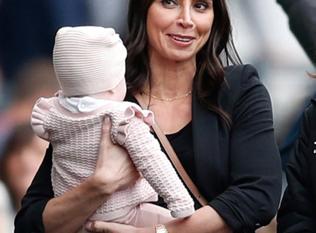 Christine Lampard Rushed One Year Old Daughter To A E With High Temperature Newschain