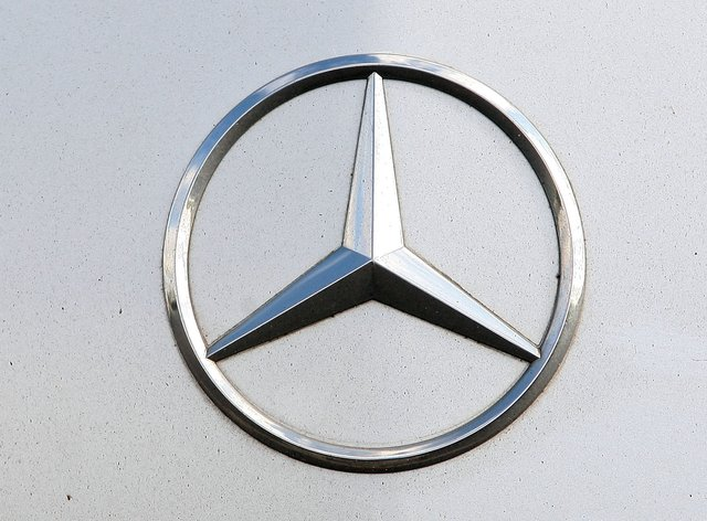 A Mercedes logo