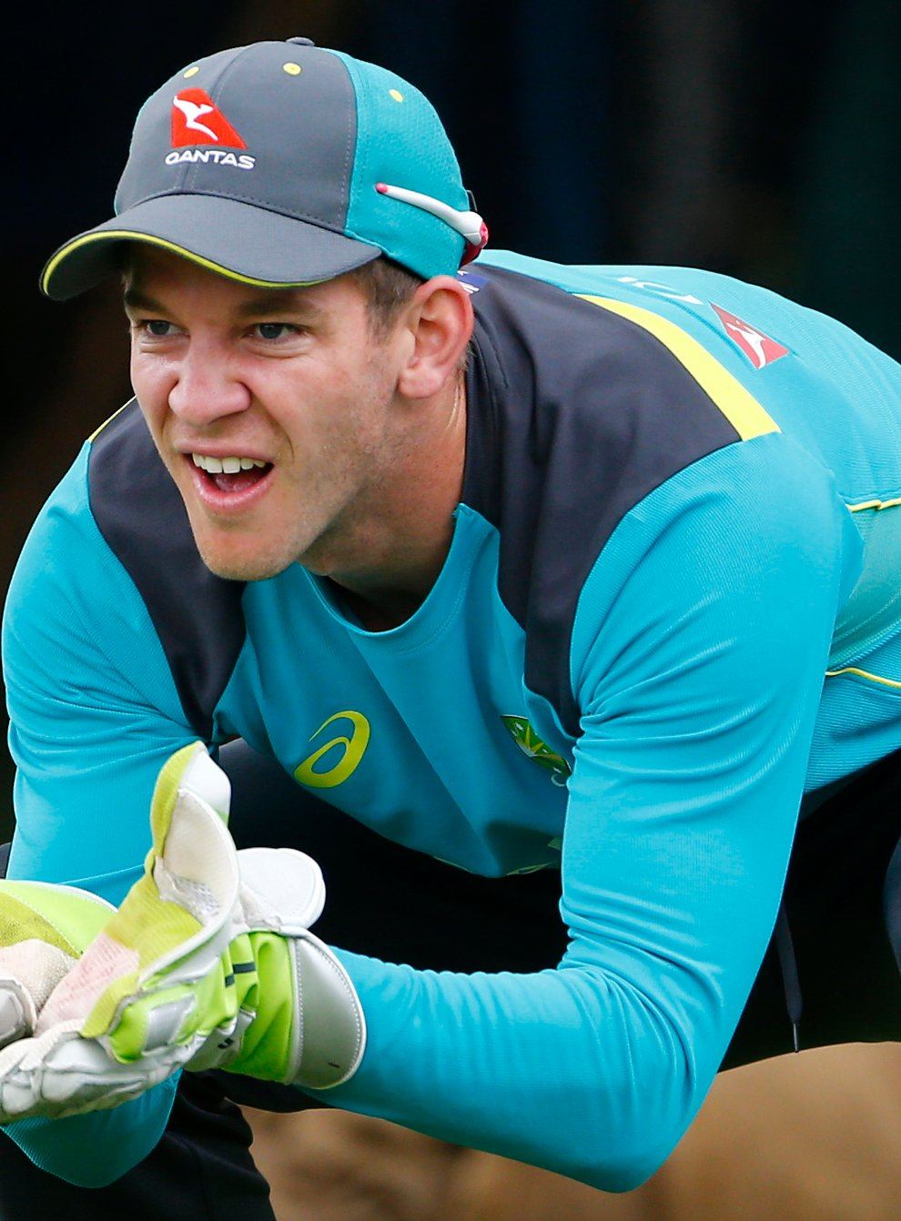 Paine admitted to putting the team above his own comfort during the Ashes test (PA Images)