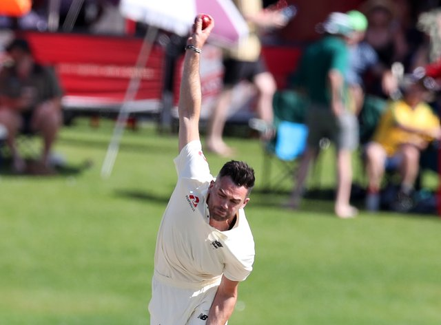 England's James Anderson will be among those permitted to train (PA Images)
