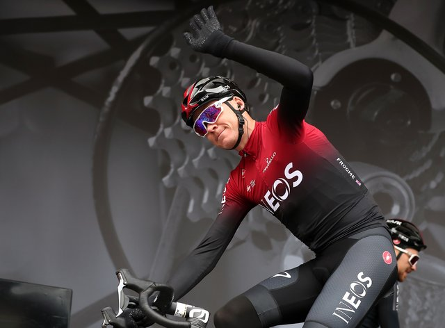 Froome has been with Team Sky/Ineos since 2010 (PA Images)