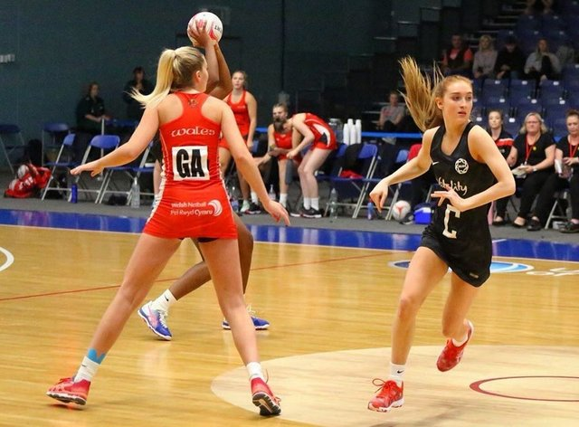 Alicia Scholes was called up to play for Manchester Thunder's senior squad in January (Instagram: Alicia Scholes)