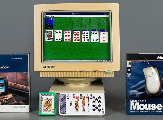 Solitaire on Windows
