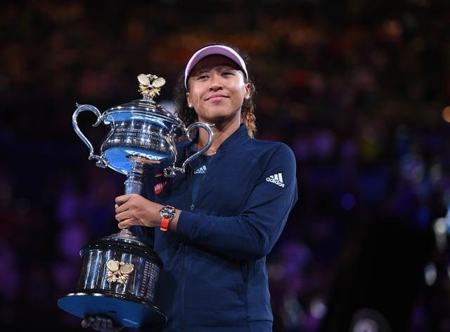 Osaka has won the US Open and Australian Open titles