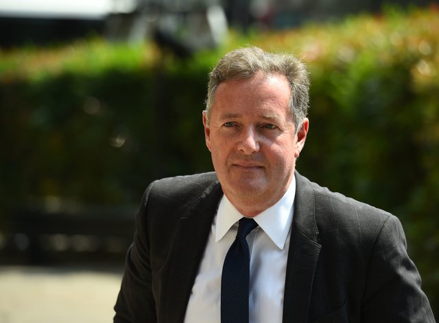 <p>Piers wanted to remain optimistic about the news of a vaccine</p>