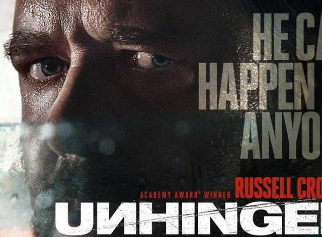 The Film stars Hollywood legend Russell Crowe (Unhinged movie)