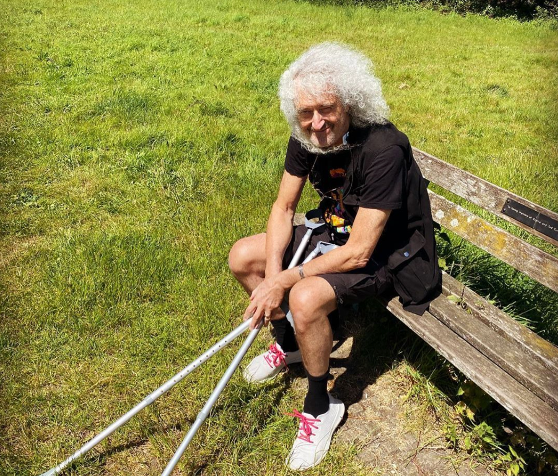 Queen's Brian May on his heart attack