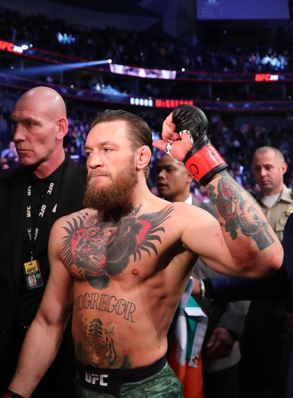 McGregor returned to the octagon with a stunning victory over Donald Cerrone in January