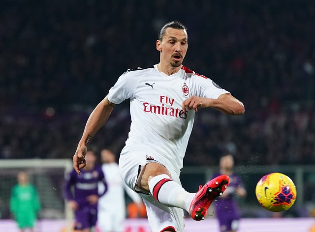 Ibrahimovic's contract at Milan expires at the end of the season