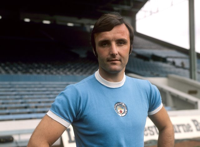 Pardoe spent his whole professional career at Manchester City