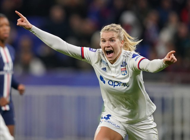 Hegerberg wants to use her voice for good causes in the future