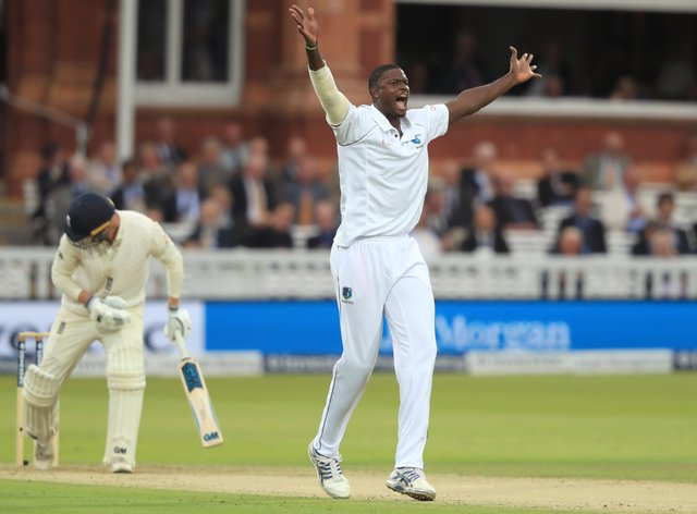 Jason Holder's side are currently on course to tour England in July