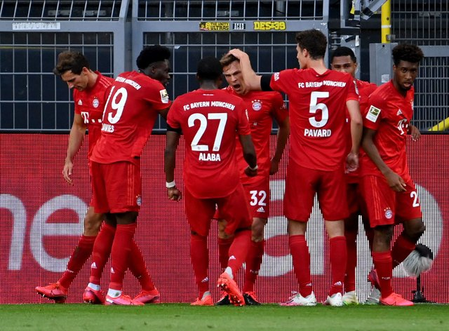 Full-back Joshua Kimmich scored the vital goal for the visitors two minutes before half-time