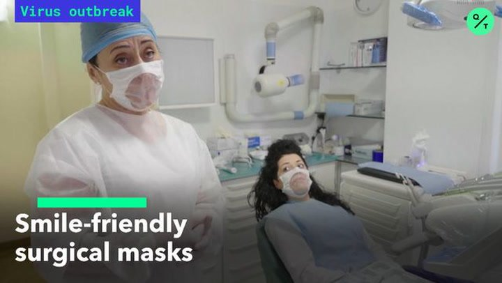Smile-Friendly Surgical Masks