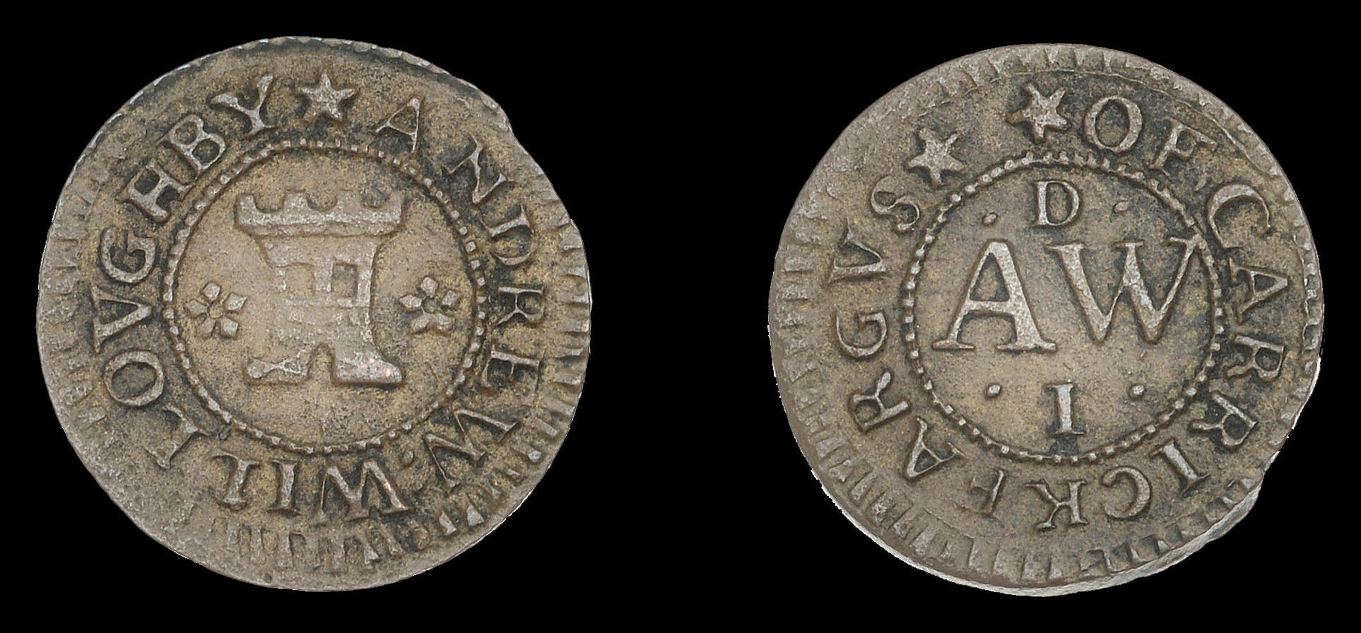 Rare penny struck in Northern Ireland breaks auction records