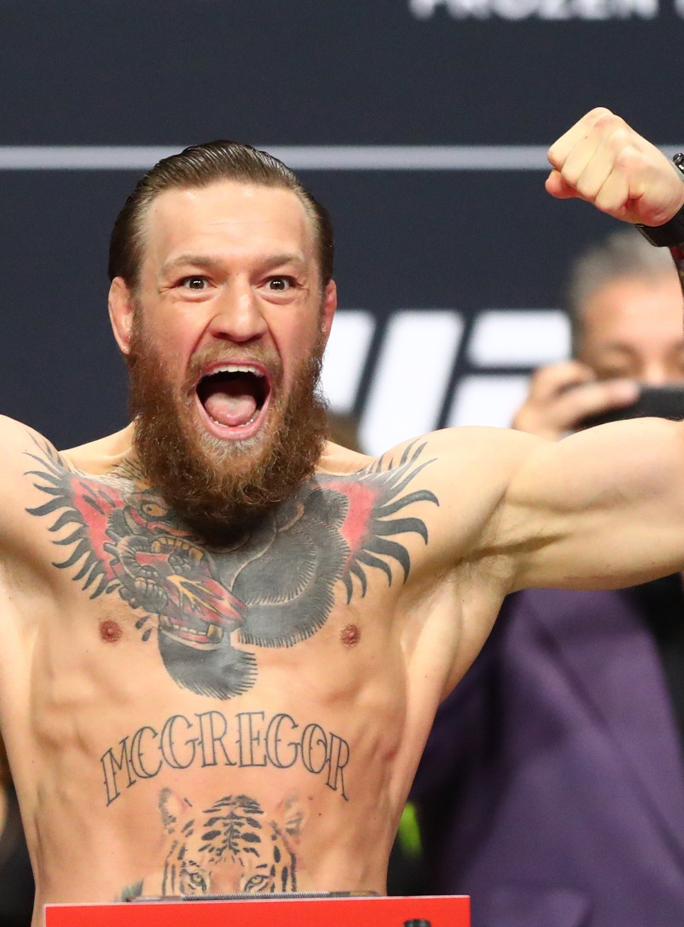 <p>McGregor returns to the octagon for the first time in 12 months next weekend</p>