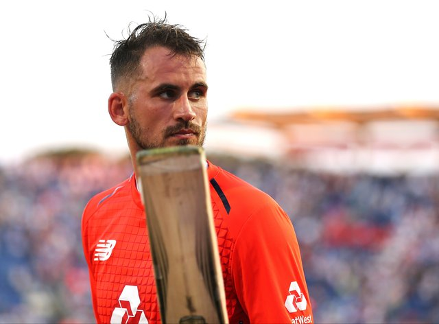 Hales must wait before he can put on an England shirt again