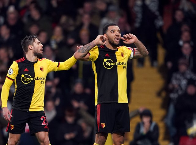 Deeney has so far refused to return to club training due to fears about the safety of his son and BAME players