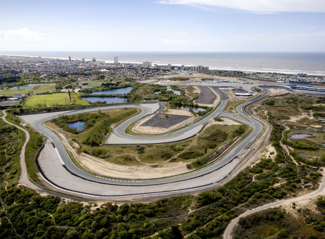 The Zandvoort circuit where the Dutch GP was meant to be held this year
