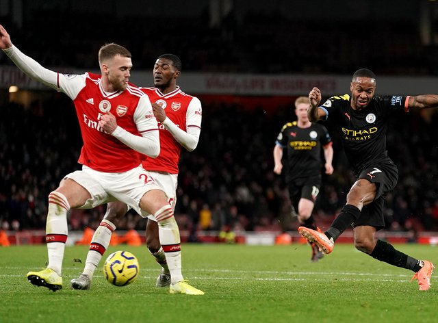 Manchester City will host Arsenal in one of two games kicking off the Premier League's return on Wednesday, June 17